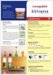 Acrylic Distemper For Wall, Packaging Type: Bucket