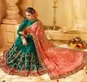 Beautiful Designer Heavy Work Georgette Saree