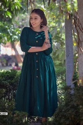 Glam Elegance KJ Vol-1 Stylish Party Wear Rayon Cotton Kurti