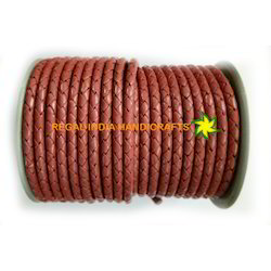 Braided Leather Cord-1018