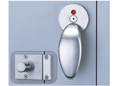 Satin Stainless Steel. Enox Washroom Cubicle Partition Fittings Ewps-006