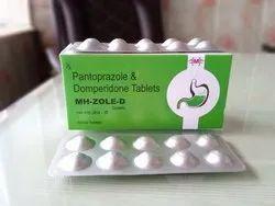 Pantoprazole 40 mg Domperidone 10 mg Tablets