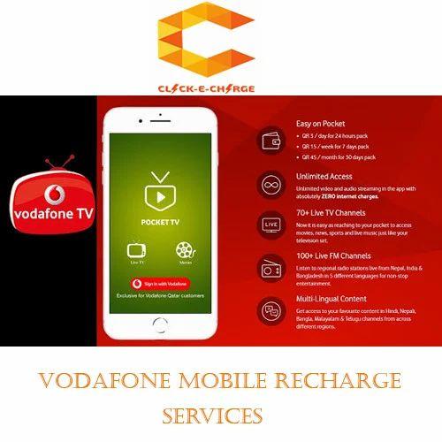 Voice Click-E-Charge Service Vodafone Prepaid Mobile