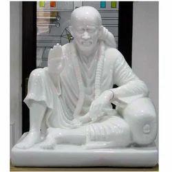 Artistic Sai Baba Marble Statue