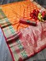 New Banarasi Weaving Soft Silk Saree