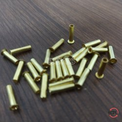 Brass Tube Tubular Rivets Golden