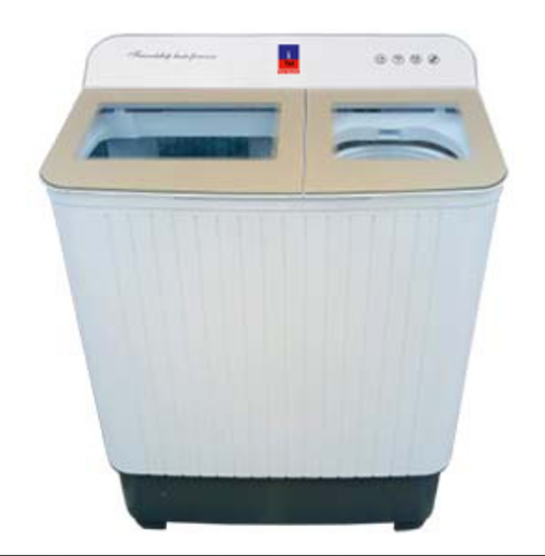 I-tel Semi-automatic Steel-tub Washing Machine - 7.8 Kg