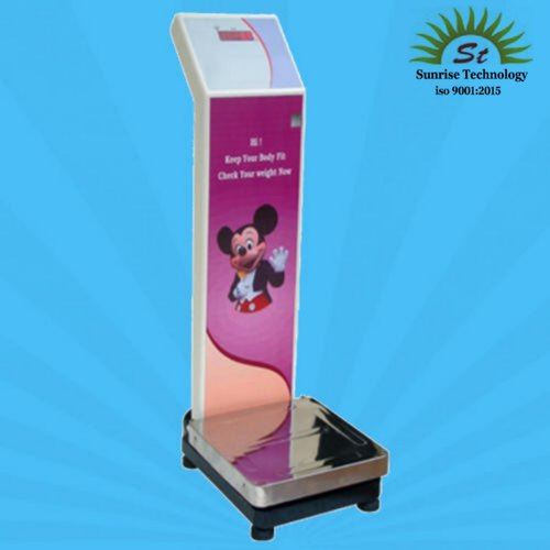 Coin Operated  Weigh Scales