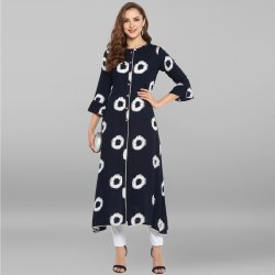 Rayon Party Wear Kurtis
