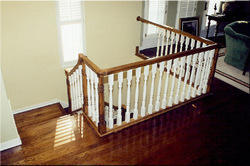 Wooden Balusters Railing