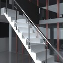 Handrail With Glass