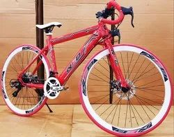 Red Neo Gear Bicycle
