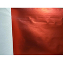 Red Matte Metallic Laminated Non Woven Fabric