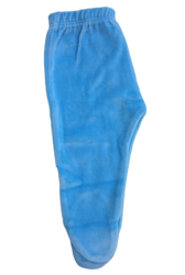 Blue Baby Woolen Leggings with Foot