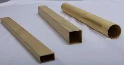 Brass Rectangular Tubing