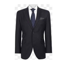 Men Navy Blue Advocate Blazer