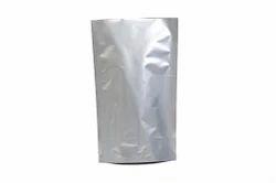 Silver Aluminium High Barrier Packaging Pouch