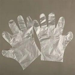 HM PLASTIC HAND GLOVES