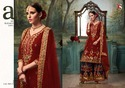 Deepsy Dulhan Gold Bridal Collection Plazzo Pakistani Salwar Kameez
