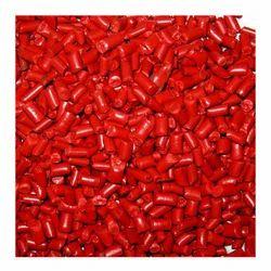 Red Virgin Nylon Granules