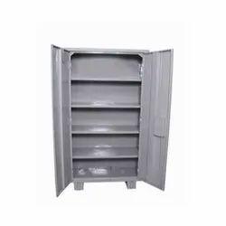 6.5 Feet Designer Double Door Stainless Steel Almirah