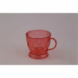 PolyCarbonate Red Tea Cup