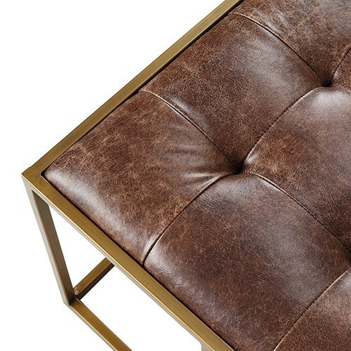 Wondrous Leather Coffee Table Ottoman Gmtry Best Dining Table And Chair Ideas Images Gmtryco