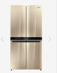Whirlpool W Series 4 Door 677 Ltrs Crystal Mocha Refrigerator