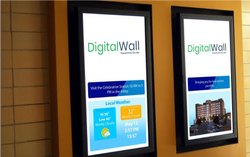 43'' Wall Mounted Digital Signage