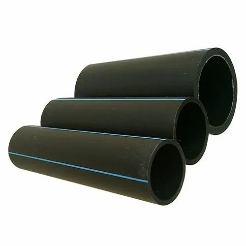 Black Round HDPE Coil Pipe