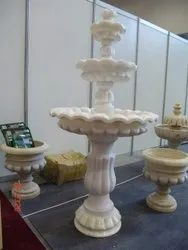 Three Tier Classical Marble Fountain