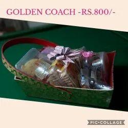 Golden Paper Gift Hampers