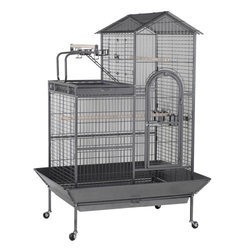 A17 Trolley Type Parrot Cage