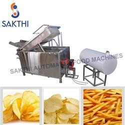 Rectangular  Potato Chips Fryer