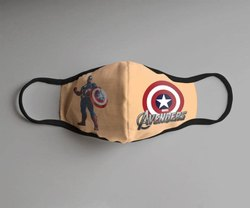 Cotton Face mask with Avenger Design