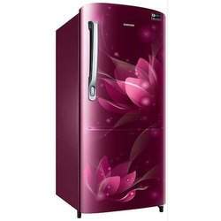 Stainless Steel Frost Free 192 Liter Samsung Refrigerator, Single Door