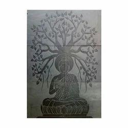 Buddha Tile Mural