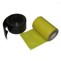 Euro Yellow , Red Non Adhesive Pvc Tapes
