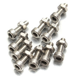 Polished ASME Inconel Metric Fastener, Size: 2.5 inch