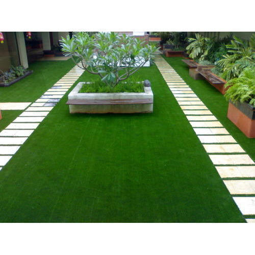 Synthetic Lawn Grass Minimum Area 100 Sq Ft Rs 120
