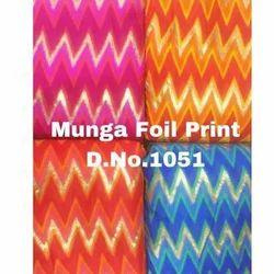 Munga Foil Print Fabric