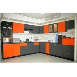 U Shape Aluminium Modular Kitchen, in Delhi Ncr