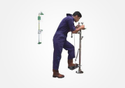 S-Safe Emergency Eye Face Wash Fountain (Hand Operated/Foot Operated) SS 304