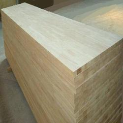 Rubber Wood Plank, Thickness: 1-5 inch