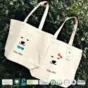 Natural Recycle Organic Cotton Canvas Beach Bag