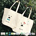 Natural Recycle Organic Cotton Canvas Beach Bag