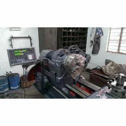 Lathe Machine with DRO