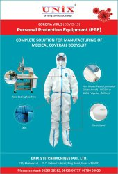 PPE Kit Making Machine - Hot Air Seam Sealing Machine