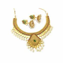 Wedding Gold Necklace Set