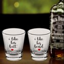 Custom Printed Shot Glass Clear 45ml